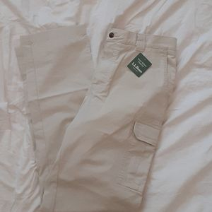 Mens LL Bean Cargo Pants 34x34